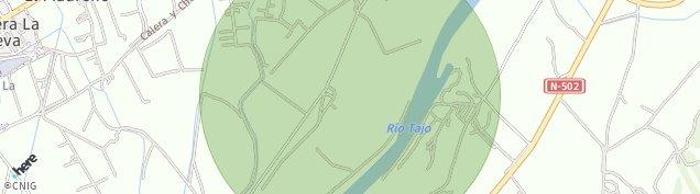 Mapa Talavera la Nueva