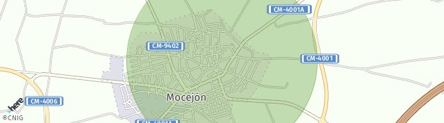 Mapa Mocejón