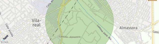 Mapa Villarreal