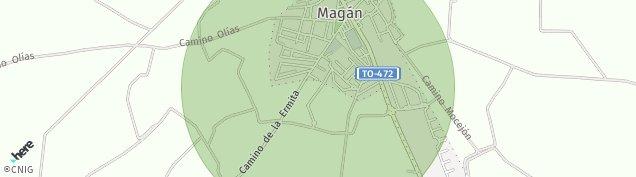 Mapa Magán