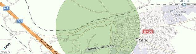 Mapa Ocaña