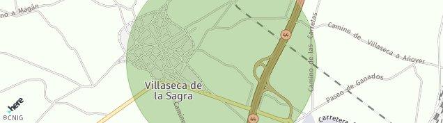 Mapa Villaseca de la Sagra