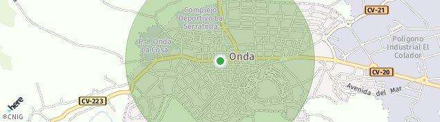 Mapa Onda