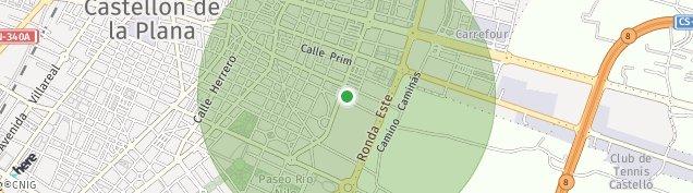 Mapa Castellón de la Plana