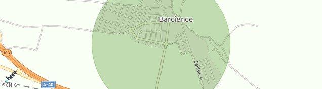 Mapa Barcience