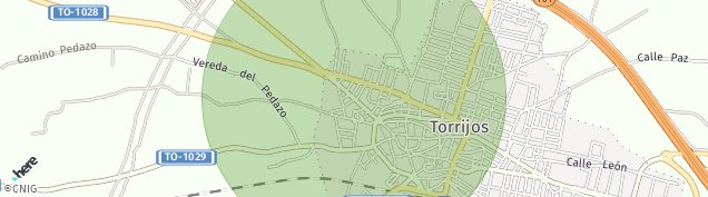Mapa Torrijos