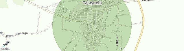 Mapa Talayuela