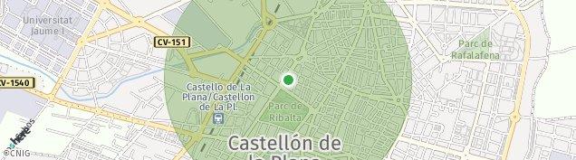 Mapa Castello/Castellon de La Plana