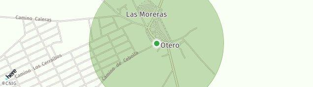 Mapa Otero