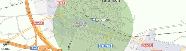 Mapa Tarancón
