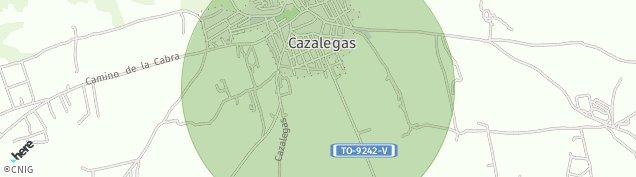 Mapa Cazalegas
