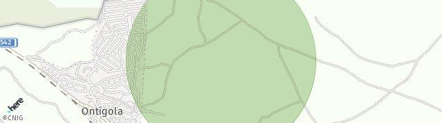 Mapa Ontígola