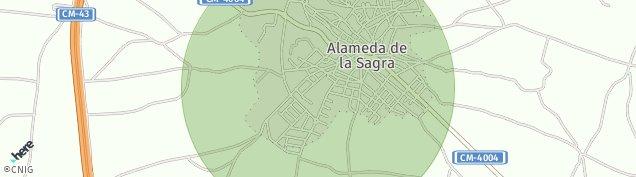 Mapa Alameda de la Sagra