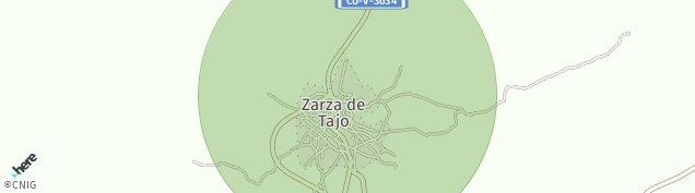 Mapa Zarza de Tajo