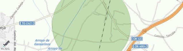Mapa Cobeja
