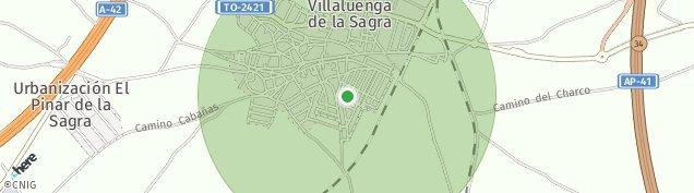 Mapa Villaluenga de la Sagra