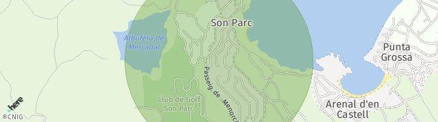 Mapa Port d'Addaia