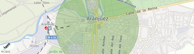 Mapa Aranjuez
