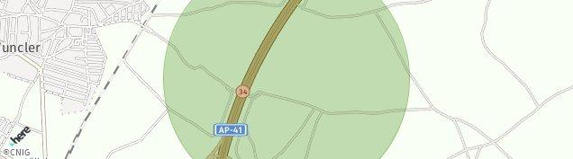 Mapa Yuncler