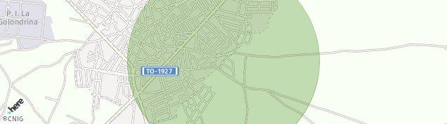Mapa Fuensalida