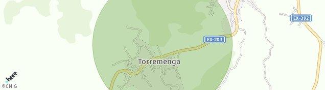 Mapa Torremenga