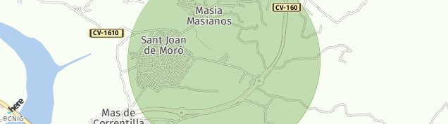 Mapa Sant Joan de Moró