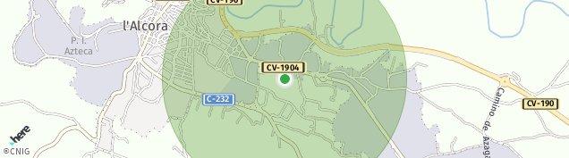Mapa L'Alcora