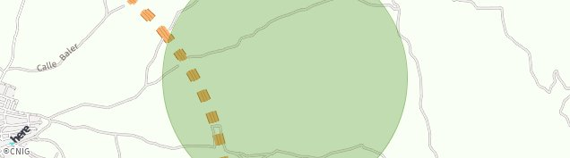Mapa Borox