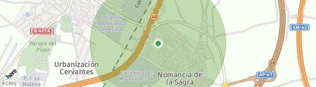 Mapa Numancia de la Sagra
