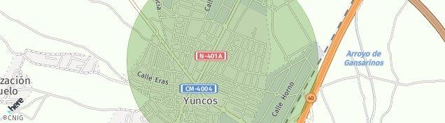 Mapa Yuncos