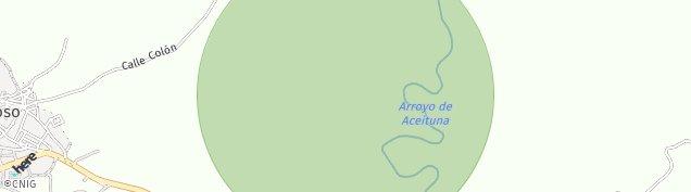 Mapa Montehermoso