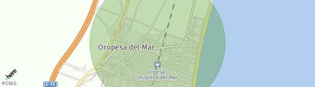 Mapa Oropesa
