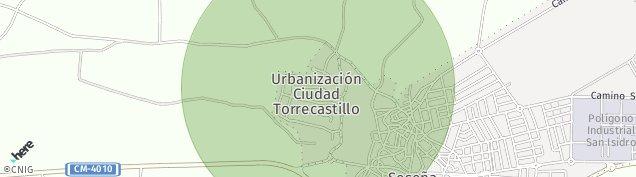 Mapa Seseña