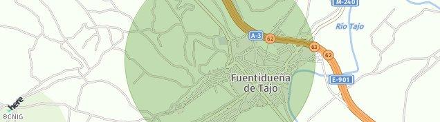 Mapa Fuentidueña de Tajo