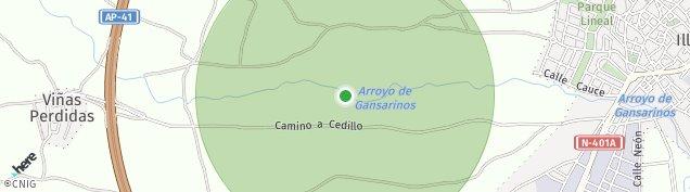 Mapa Illescas