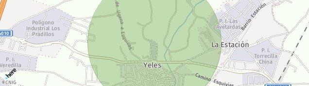 Mapa Yeles