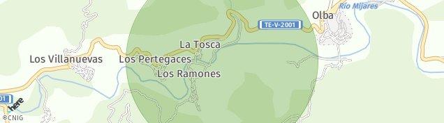 Mapa Los Pertegaces