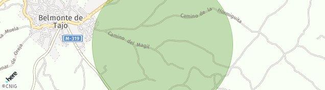 Mapa Belmonte de Tajo