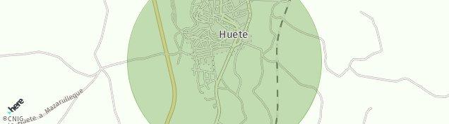 Mapa Huete
