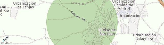Mapa El Viso de San Juan