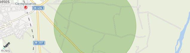Mapa Ciempozuelos