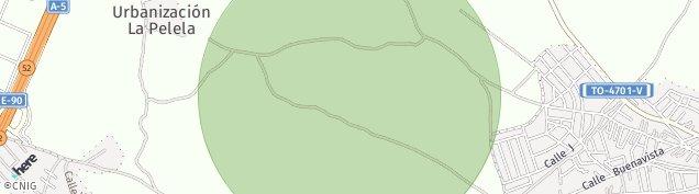 Mapa Las Ventas de Retamosa