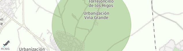 Mapa Ugena