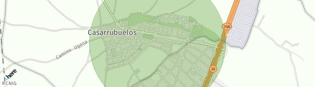 Mapa Casarrubuelos