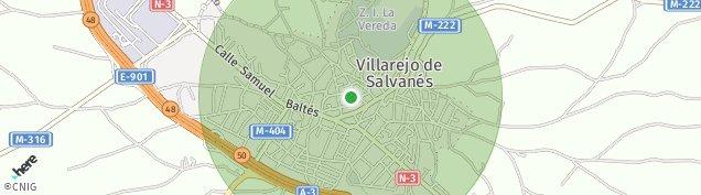 Mapa Villarejo de Salvanés