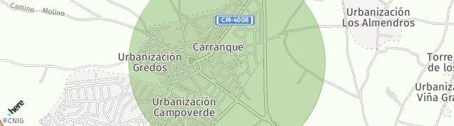 Mapa Carranque
