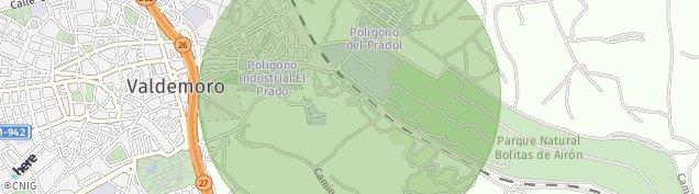 Mapa Valdemoro
