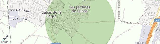 Mapa Cubas de la Sagra