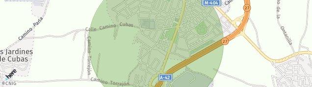 Mapa Torrejón de la Calzada