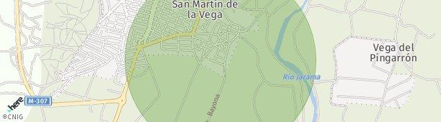 Mapa San Martín de la Vega